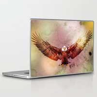 eagle Laptop & iPad Skins featuring Eagle by ron ashkenazi