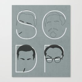 Sterling Cooper Draper Pryce Canvas Print