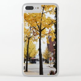 Fall in St. Louis Clear iPhone Case