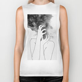 Losing thoughts. Biker Tank