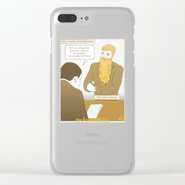 AwkwardIRL #13 Clear iPhone Case