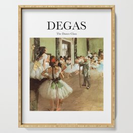 Degas - The Dance Class Serving Tray