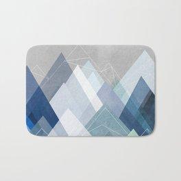 Graphic 107 X Blue Bath Mat