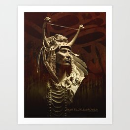 First peoples Power Art Print