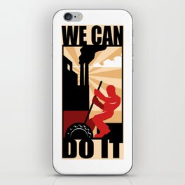 We Can Do It iPhone Skin