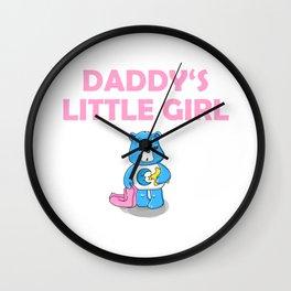 Daddy's Little Girl Brat DDLG Ageplay Wall Clock