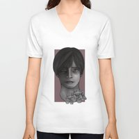 silent hill V-neck T-shirts featuring Silent Hill 4 The Room Henry Townshend by hinterdemlicht
