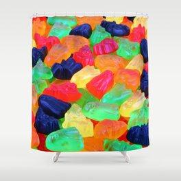 Spooky Gummyz Shower Curtain