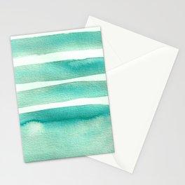 Tiffany Blue Minimalist Watercolor Stationery Cards