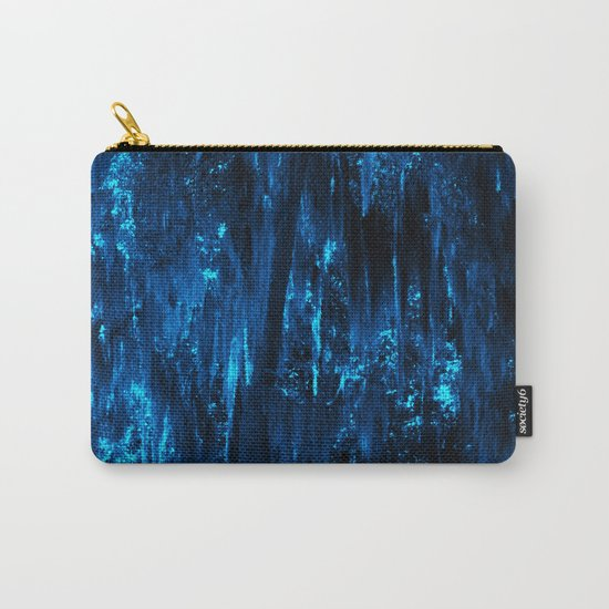 Blue Moss Carry-All Pouch