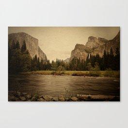 Yosemite - Study 86 Canvas Print