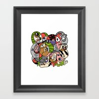 Daily Drawing 2321 Framed Art Print