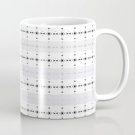 Chrysanthemum Black Ink Coffee Mug