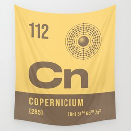 Periodic Element A - 112 Copernicium Cn Wall Tapestry