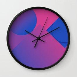 Gradient Graphic Pattren Wall Clock