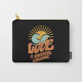 Love Is A Universal Language Summer Sun Carry-All Pouch