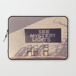 See Mystery Lights - Marfa, Texas Laptop Sleeve