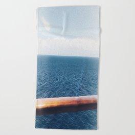 The Open Sea Beach Towel