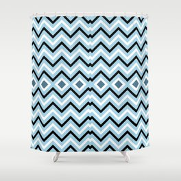 NAUTICAL LINES Shower Curtain