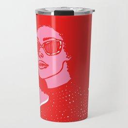 Kara Pink Travel Mug
