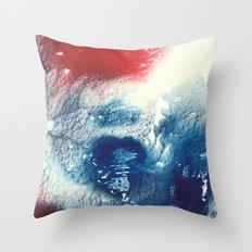 Tsunami Throw Pillow