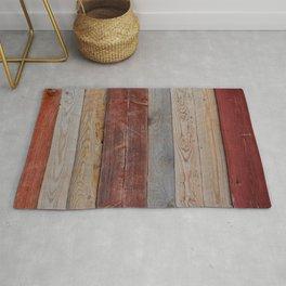 Decorative wood wall Rug