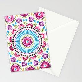 MANDALA--FLORAL Stationery Cards