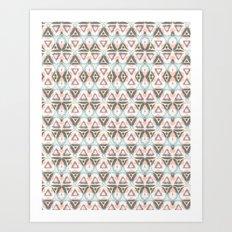 Acostada Art Print