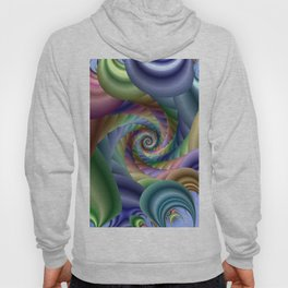 Spiral pastel shades Hoody