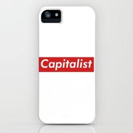 Capitalist Box Logo iPhone Case
