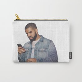 drake text Carry-All Pouch