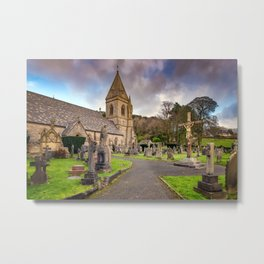 Church at Pantasaph Metal Print