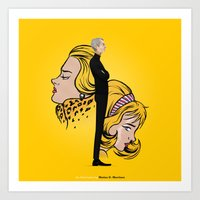 lichtenstein Art Prints featuring Lichtenstein by Matias G. Martinez