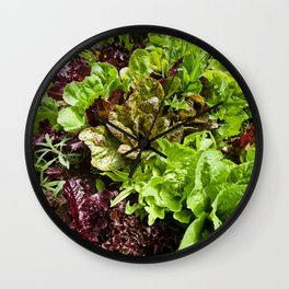 Greens Wall Clock