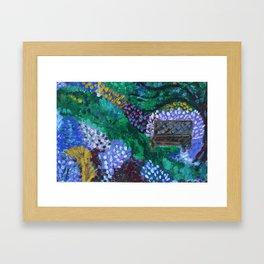 In the Wisdom Garden Framed Art Print