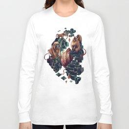 monkey temple Long Sleeve T-shirt