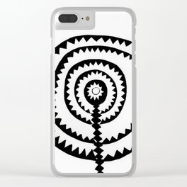 Aztec Clear iPhone Case