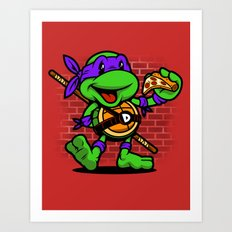 Vintage Donatello Art Print