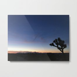 SUNSETS WITH HER V Metal Print