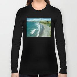 Raglan beach, New Zealand Long Sleeve T-shirt