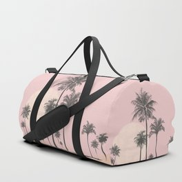 Tropical Sunset In Peach Coral Pastel Colors Duffle Bag