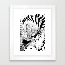 PLEASE, COME IN CONTACT OUR PLANET EARTH Framed Art Print