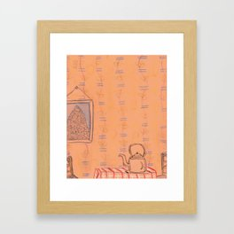 Steeping Framed Art Print
