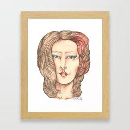Miyoko  Framed Art Print