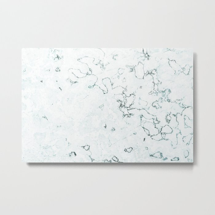 Marble Elegance Metal Print