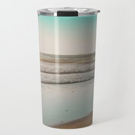 Golden Beach Days Travel Mug
