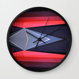 Highwayscape #9 Wall Clock