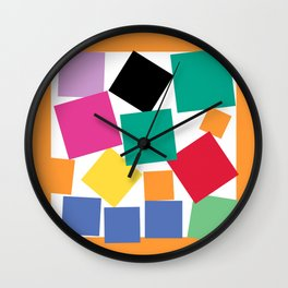 Square Elephant Wall Clock