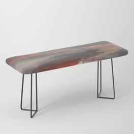 Serenity [2]: an acrylic piece in both warm and cool colors by Alyssa Hamilton Art Bench