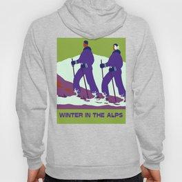 Winter in the Alps Hoody